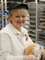 Bakery Employee with Bread