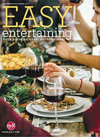 Easy Entertaining Cover, November-December