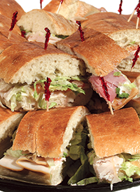 Platter of Sandwiches