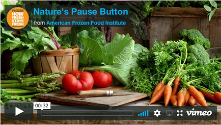 ScreenShot of Nature's Pause Button Video