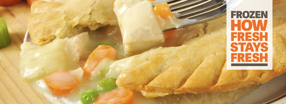 Frozen Food Chicken Pot Pie