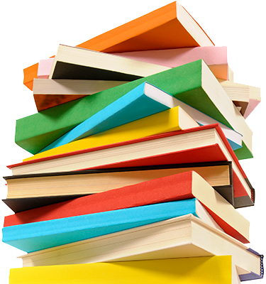 Colorful Stack of Books