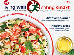 Cover of Living Well Eating Smart Magazine