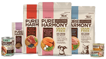 Collage of Pure Harmony Brand Products