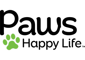Paws Happy Life Logo