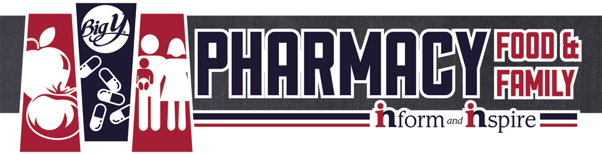 Big Y Pharmacy Inform & Inspire Logo