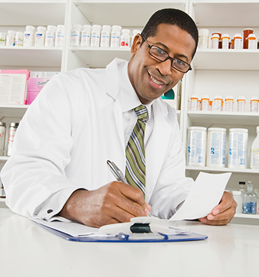 Pharmacist Smiling