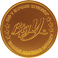 Big Y Gold Rewards Coin